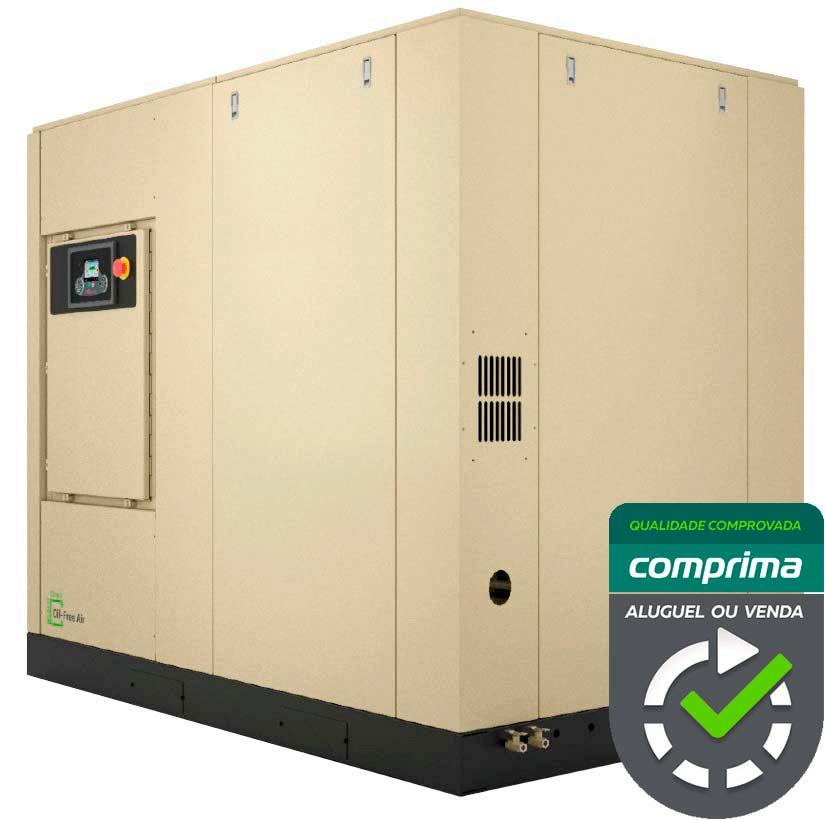 Locação de compressores isentos de óleo - Comprima