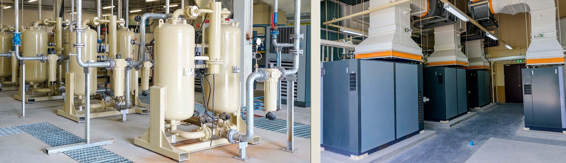 Sala de Compressores - Comprima